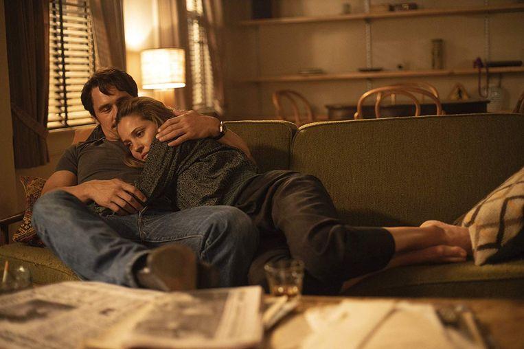James Franco als Vincent en Margarita Levieva als zijn grote liefde Abby in het derde seizoen van The Deuce. Beeld