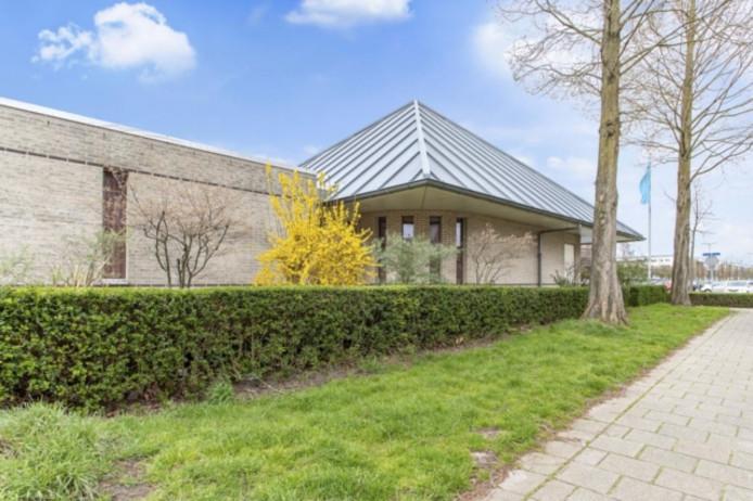 koninkrijkszaal van de Jehova's Getuigen aan de Nathaliegang 73 in Rokkeveen