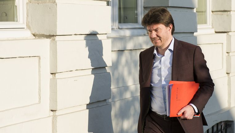 Vlaams minister van Jeugd, Cultuur en Sport Sven Gatz (Open Vld).