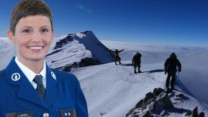 """'Kijk Uit'-presentatrice eerste Belgische die legendarische 'seven summits' bedwingt: """"Er zijn traantjes gevloeid"""""""