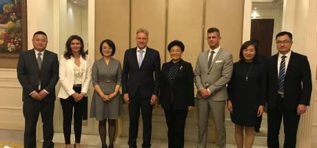 Oosterhout blijft vrienden met Chinese miljoenenstad: 'Maar we weten dat het soms rammelt met de mensenrechten'