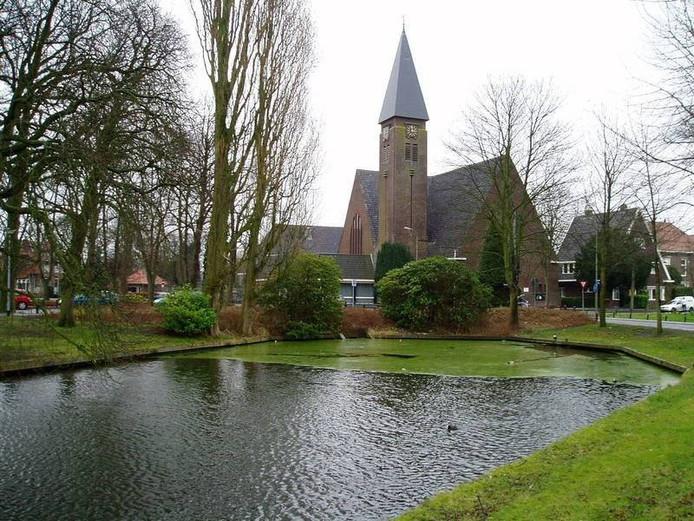 De Plantagekerk aan de Stationslaan in Harderwijk.