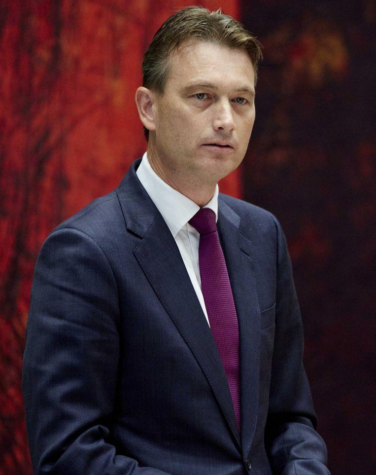 VVD-fractievoorzitter Halbe Zijlstra: Als wij heel veel meer zouden doen, zou de wereld daar niks van merken. Beeld ANP