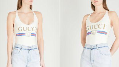 Dit badpak van Gucci is uitverkocht en je kunt er niet eens in zwemmen