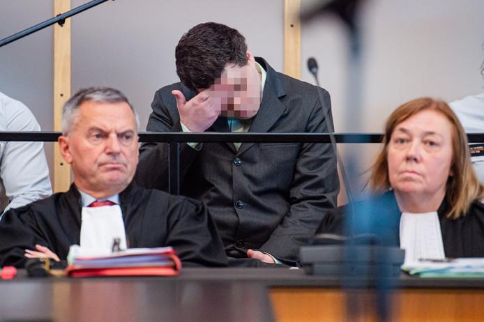 Verdachte Jonny Van den Broeck (27).