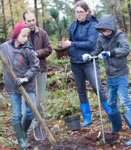 Samen in de natuur werken aan voedselbos bij Wolfskuil Ommen