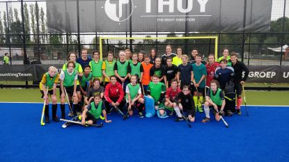 Red Lions verrassen jeugdspelers op training Royal Victory