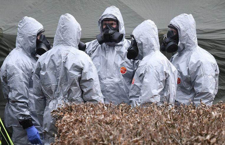 Vorig jaar werd het gif gebruikt bij een aanval op de Russische ex-spion Sergej Skripal en zijn dochter Joelia in het Britse Salisbury.