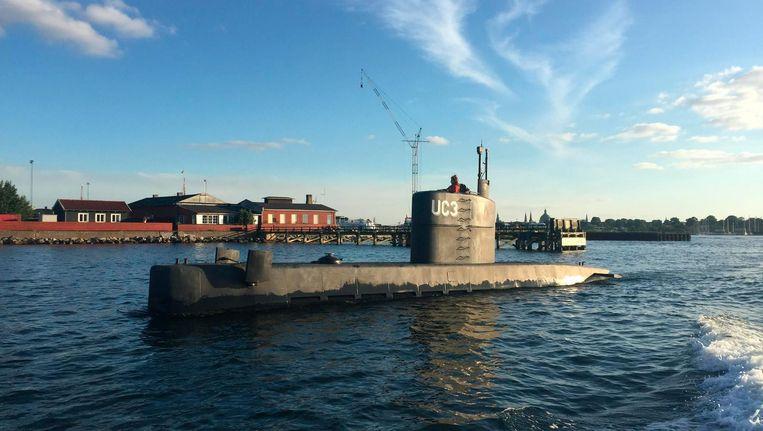 De zelfgebouwde onderzeeboot UC3 Nautilus. Beeld anp