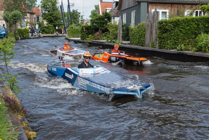 Eerder dit jaar deed de Young Solar Challenge Harlingen en Akkrum aan.