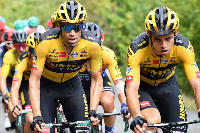 Tom Dumoulin et Wout Van Aert se lancent à la conquête du titre mondial.