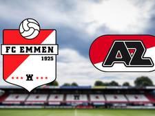 Eerste eredivisieduel ooit in Drenthe tussen Emmen en AZ