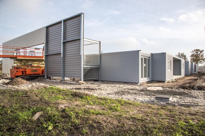Lelystad ziet wel iets in tijdelijke woningen voor statushouders, zoals ook Zwolle die heeft geplaatst. Daar blijven ze maximaal tien jaar staan.