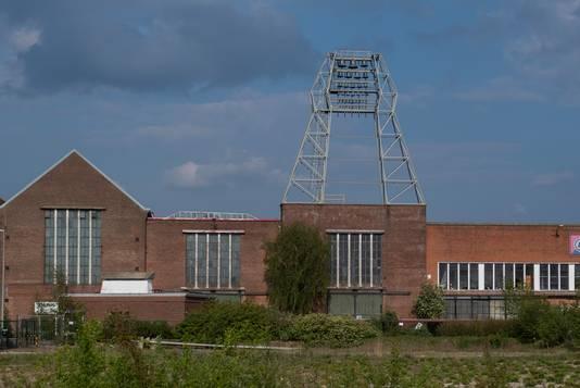Het carillon bij de Lips-fabriek, toen het pand er nog stond.