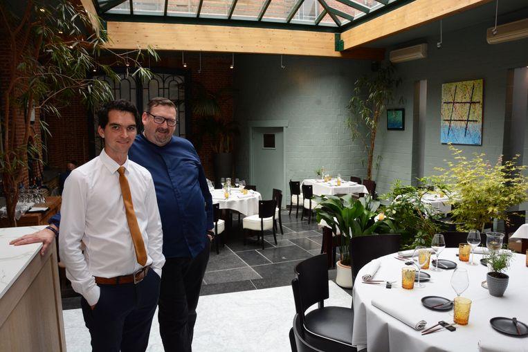 Chef Pascal Fuchs (rechts) had grote plannen met de zaak, maar kwam al snel in slechte papieren te zitten.