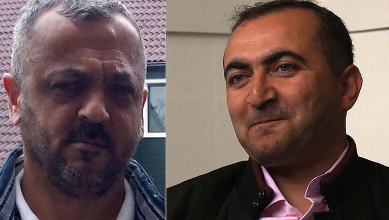 Haydar Zengin (r) leek sterk op de eveneens vermoorde Zeynel Er Beeld -