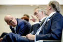 Diederik Samsom (links) leidt de Gebouwde Omgeving, een van de zes klimaattafels. Rechts Ed Nijpels, voorzitter van het Klimaatberaad.