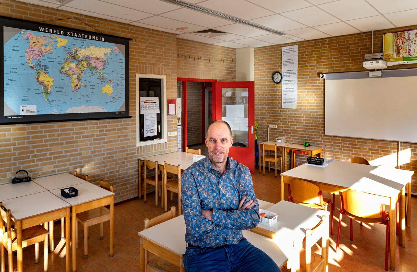Hans Fuchs, directeur-bestuurder van Stichting Openbare Basisscholen Helmond.