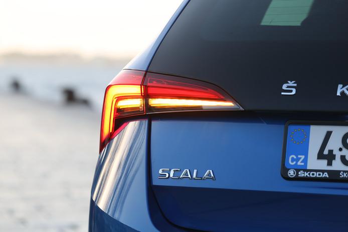 In navolging van Audi heeft ook de Skoda Scala dynamische richtingaanwijzers