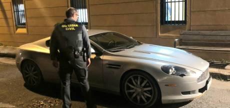 Proefrit met peperdure Nederlandse Aston Martin eindigt in Spanje