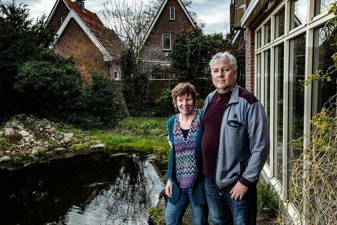 Links Annet Oling, rechts Wilfred Vruggink uit Olst.