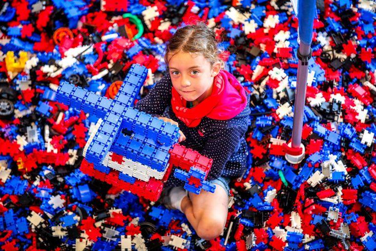 In het speelparadijs Clics kunnen kinderen naar hartenlust spelen met bouwblokken.