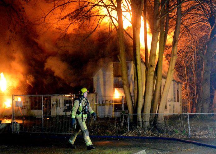 De brand aan het Julialaantje.