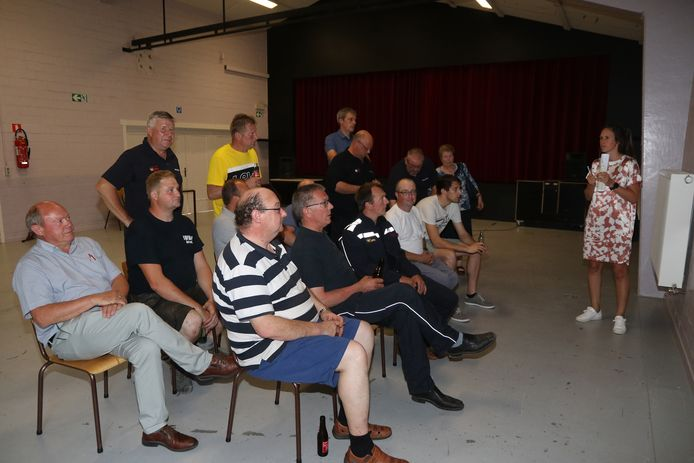 Er werd dinsdagavond wat uitleg gegeven over de voorstellen tijdens een infovergadering.