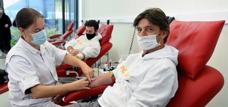 Le Centre de crise national appelle au don de plasma pour la Croix-Rouge