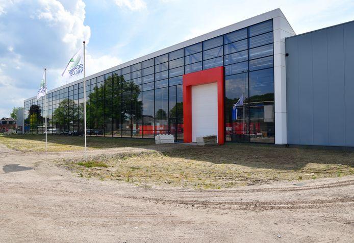 De nieuwbouw van  Beele op het 4,5 hectare grote bedrijfsterrein aan de Aaltense Industriestraat.