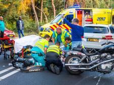Opnieuw raak op Lieshoutseweg in Nuenen: motorrijder onderuit