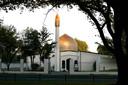 De Masjid Al Noor Mosque aan Deans Avenue in Christchurch, New Zealand (archief)