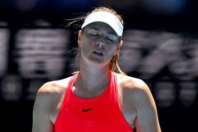 Maria Sjarapova (32) stopt met tennissen