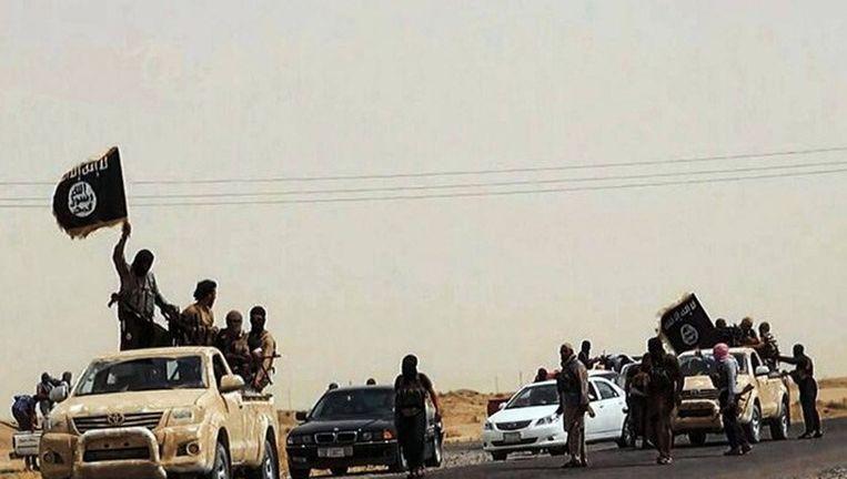 Djihadisten van de Islamistische Staat (voorheen Isis) in Irak. Beeld anp