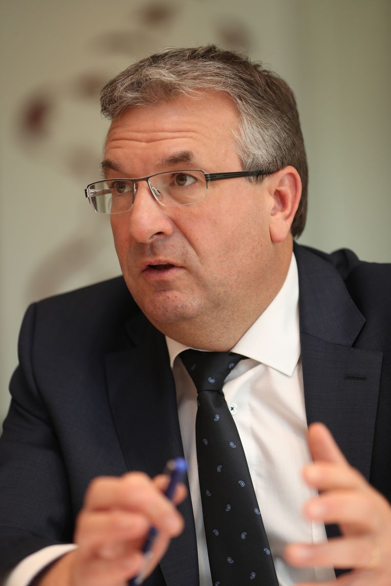 Waalse minister van Economie Pierre-Yves Jeholet (MR)