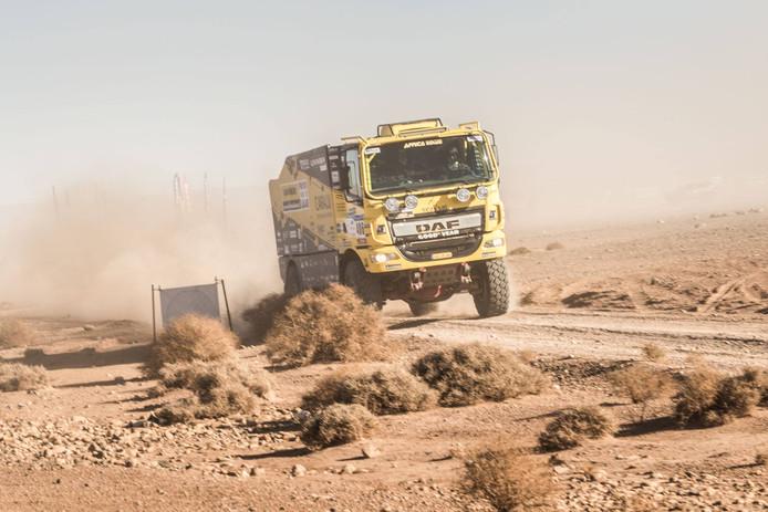 Jan van de Laar eerder deze Africa Eco Race.