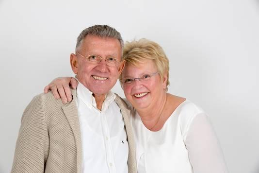 Het echtpaar Jozef en Anita Oomens.