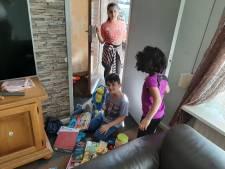 Een tas vol speelgoed: welkome geste in een huis vol kinderen