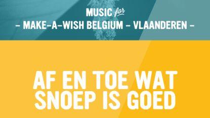 Neutraal Ziekenfonds Vlaanderen verkoopt snoep voor Make A Wish