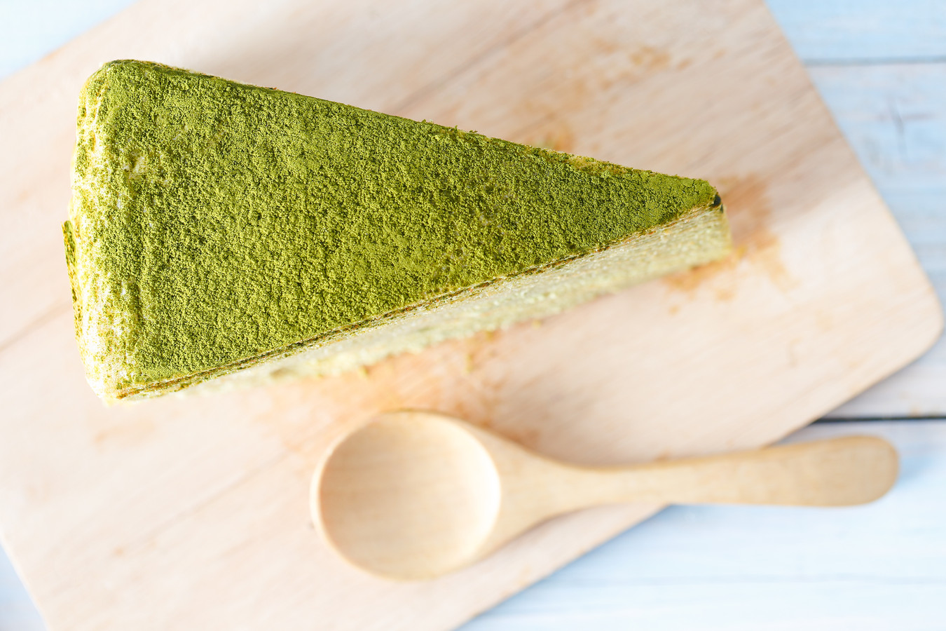 Matcha cheese cake