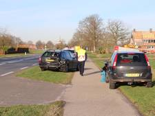 Botsing tussen 2 auto's in Fleringen