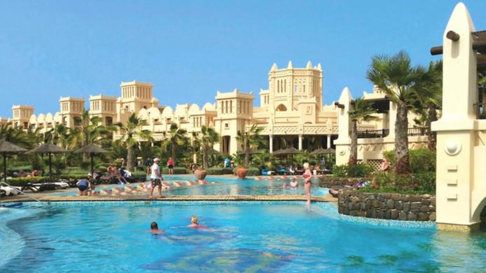 Hotel RIU Touareg op Boa Vista: in dit droomhotel beleefde Justin Miller naar eigen zeggen een 'horrorvakantie'.