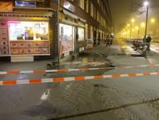 Lek in drinkwaterleiding op Willem Buytewechstraat: kelders vol water