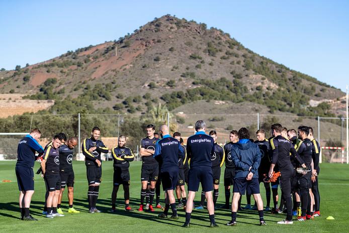 NAC maakt zich klaar voor de eerste training in Atamaría.