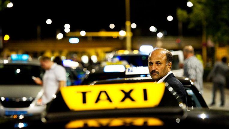 In de taxibranche meldden zich afgelopen jaar meer ondernemers Beeld anp