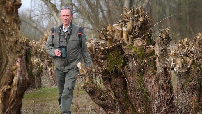 Boswachter Jacques van der Neut. Archieffoto