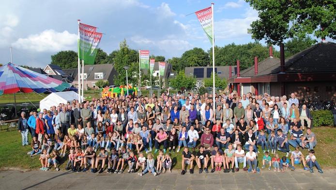 Heel Hernen ging op de foto bij de 25ste editie van de Stratenmarkt