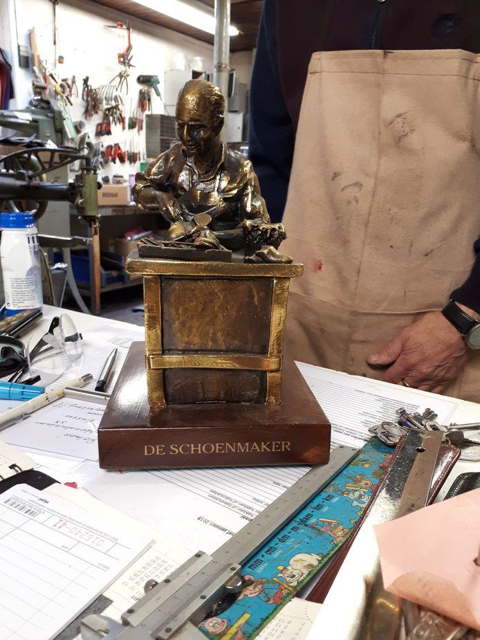 Dit bronzen beeld is een van de pronkstukken van het museum. Foto Janneke Hobo
