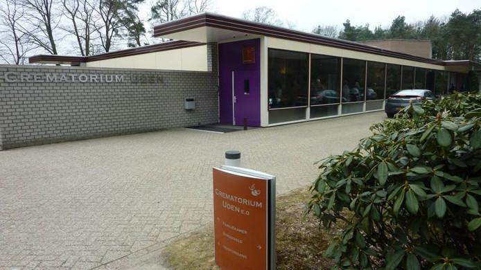 Het crematorium aan de Belgenlaan in Uden
