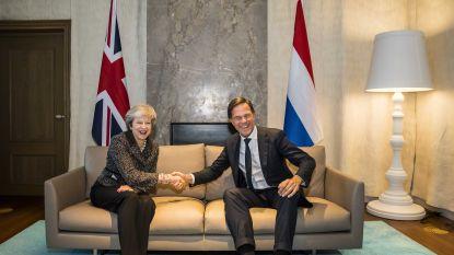 May start charmeoffensief voor betere brexitdeal bij Nederlandse premier Rutte